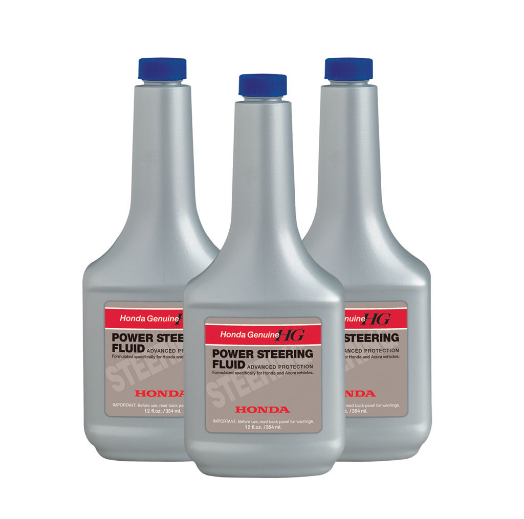 Honda Transmission and Power Steering Fluid 1