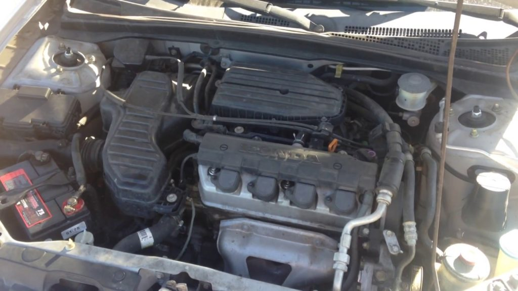 Honda Transmission and Power Steering Fluid 2