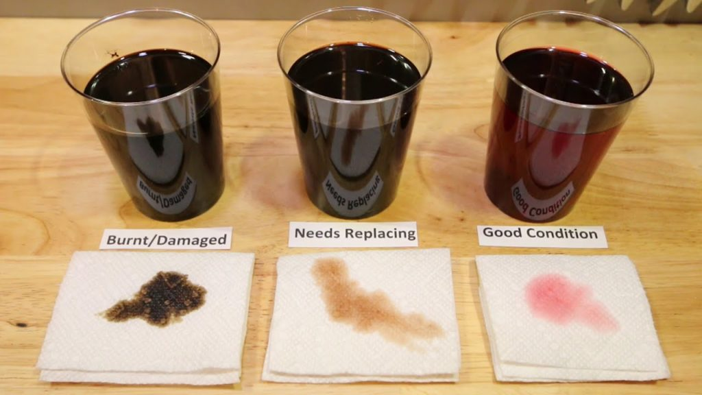 transmission fluid changing guide