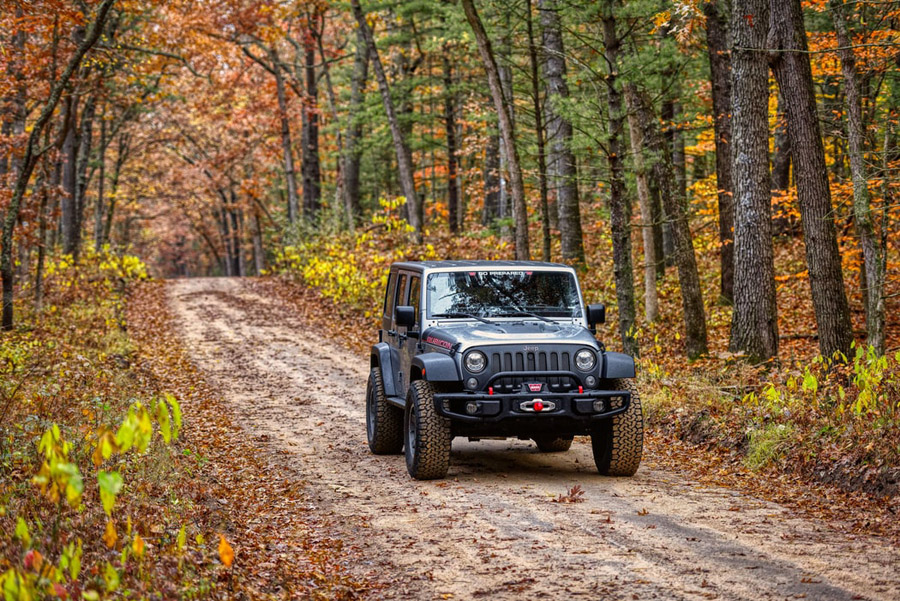 differential fluid guide for Jeep