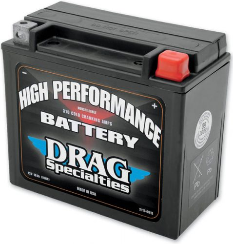 Drag Specialties High Performance Battery_L