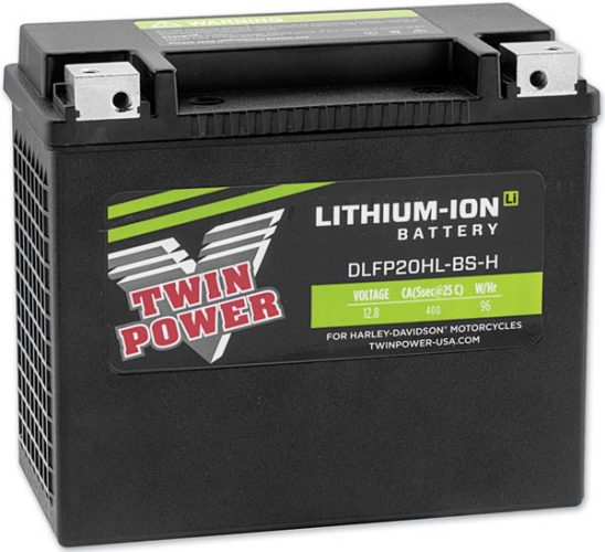 Twin Power Lithium Ion Battery_L