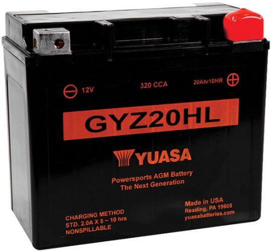 Yuasa GYZ Series_L